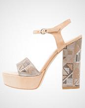 Mai Piu Senza Sandaler med høye hæler sabbia