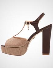 Laura Biagiotti Sandaler med høye hæler tan