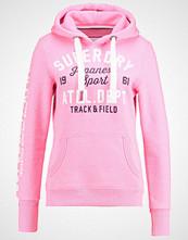 Superdry TRACK & FIELD  Genser pink sorbet snowy