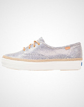 Keds TRIPLE DALMATA DOT LEATHER Joggesko navy