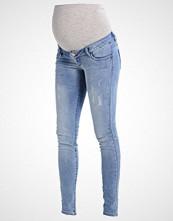 Mamalicious MLNINE Jeans Skinny Fit light blue denim