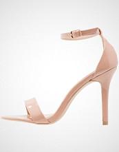 Glamorous Sandaler med høye hæler nude