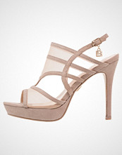 Laura Biagiotti Sandaler med høye hæler taupe