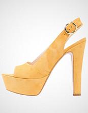 Mai Piu Senza Sandaler med høye hæler ocra