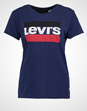 Levi's THE PERFECT Tshirts med print blue