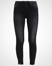 Calvin Klein MID RISE SKINNY TWISTED NIGHTRIDER Jeans Skinny Fit black