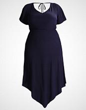 Zizzi Fotsid kjole blue