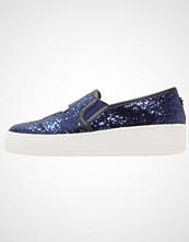 Steve Madden NYC Slippers blue glitter