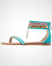 Les Tropéziennes par M Belarbi GALACTIK Flip Flops turquoise