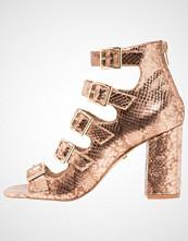Buffalo Sandaler med ankelstøtte metallic