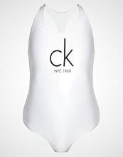 Calvin Klein Swimwear Badedrakt white