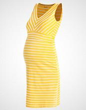 Boob SIMONE Jerseykjole yellow, offwhite
