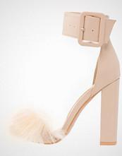 Missguided Sandaler beige