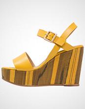 Minelli Sandaler med høye hæler jaune