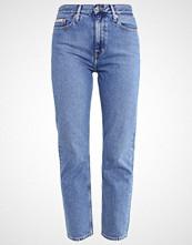 Calvin Klein HIGH RISE STRAIGHT ANKLE Slim fit jeans vintage light