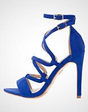 Lost Ink MATILDA Sandaler med høye hæler cobalt blue