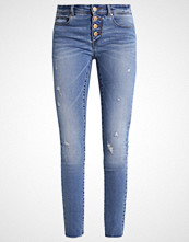 Only ONLCARMEN Jeans Skinny Fit dark blue denim