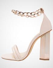 Missguided Sandaler med høye hæler rose gold