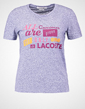 Lacoste Tshirts med print deauville blue