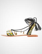 Glamorous Sandaler black/multicolor