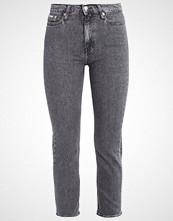 Calvin Klein HIGH RISE STRAIGHT ANKLE Slim fit jeans vintage black