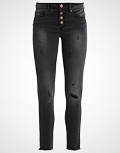 Only ONLCARMEN Jeans Skinny Fit grey denim