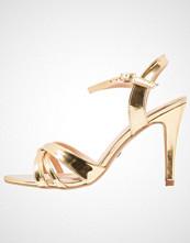 Buffalo Sandaler med høye hæler metallic gold