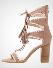 Glamorous Sandaler med høye hæler taupe