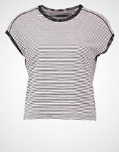 Calvin Klein LORETTA STRIPE Tshirts med print black/grey