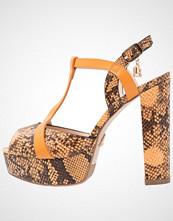 Laura Biagiotti Sandaler med høye hæler ocra