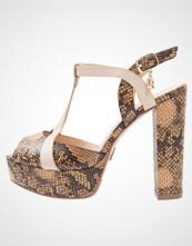 Laura Biagiotti Sandaler med høye hæler brown