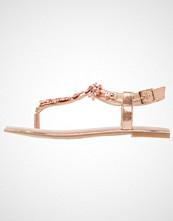Buffalo Flip Flops metallic/rose gold