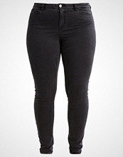 Junarose JRFIVE Slim fit jeans dark grey denim