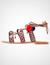 Glamorous Sandaler red/multicolor