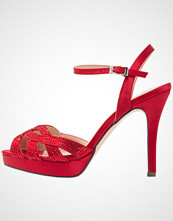 Menbur Sandaler med høye hæler rojo