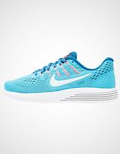 Nike Performance LUNARGLIDE 8 Nøytrale løpesko chlorine blue/glacier blue/indigo