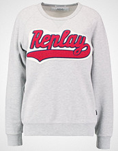 Replay Genser light grey melange