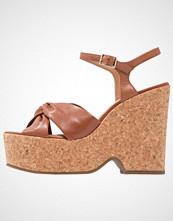 Office WILLOW Sandaler med høye hæler tan
