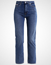 Calvin Klein HIGH RISE STRAIGHT ANKLE Slim fit jeans vintage mid