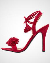 Cassis côte d'azur USOA Sandaler med høye hæler rouge