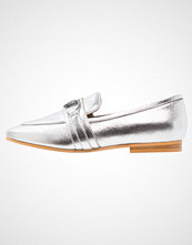 Office LEER Slippers silver