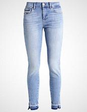 Calvin Klein MID RISE SKINNY TWISTED ANKLE Slim fit jeans blue denim