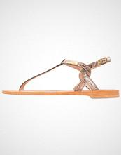 Les Tropéziennes par M Belarbi BILLY Flip Flops lezard bronze