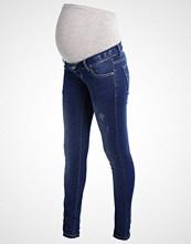 Mamalicious MLALEXA Slim fit jeans medium blue denim