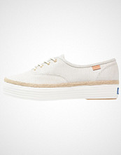 Keds TRIPLE DALMATA DOT LEATHER Joggesko cream