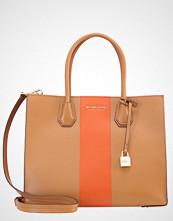 Michael Kors MERCER Håndveske acorn/orange