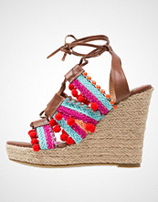 Glamorous Sandaler med høye hæler brown/multicolor