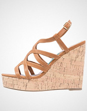 Madden Girl EEVEE Sandaler med høye hæler cognac