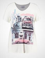 Zizzi Tshirts med print offwhite