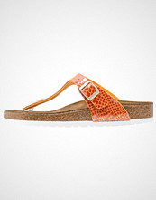 Birkenstock GIZEH Flip Flops shiny orange